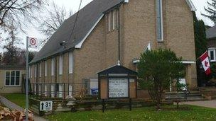 Eglwys Unedig Gymraeg Dewi Sant yn Toronto