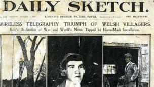 Erthygl y Daily Sketch am Arthur Moore