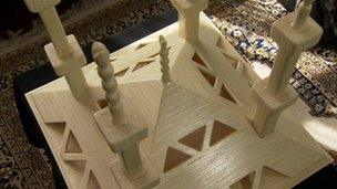Matchstick mosque: Built by Babar Ahmad in prison