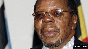 Bingu wa Mutharika (file photo)