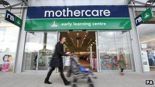 Mothercare store