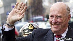 Norwegian King Harald