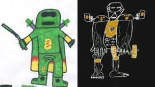Green ninja and the Abominator