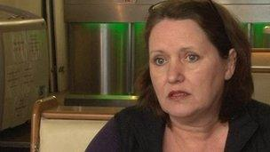 Linda Donaldson collapsed outside her diner last year in Saintfield