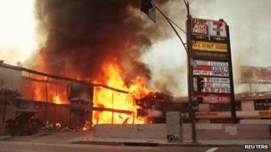 cause of la riots