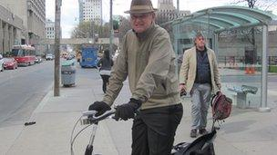 Columnist and cyclist John Barber claims Mayor Ford is 'trumping up a war' between bikes and cars