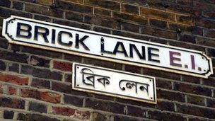 Brick Lane sign