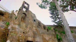 Roman tenement block