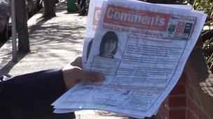 Alleged fraudulent election leaflets