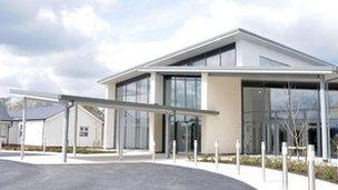 Artist's impression of the new entrance at Robert Jones and Agnes Hunt Orthopaedic Hospital
