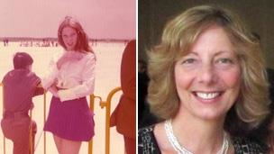 Julia Walkley-Sherman then and now