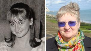 Anne Buckley, then and now