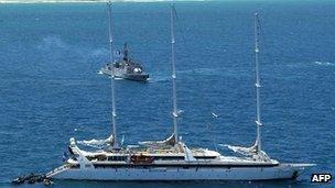 Le Ponant luxury yacht