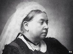 Portrait of Queen Victoria circa 1890