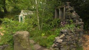 The Welcome to Yorkshire artisan garden at the Chelsea Flower Show