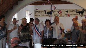 Party for the Queen in France