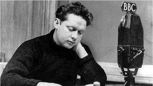 dylan thomas poem on his birthday