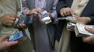 Money traders