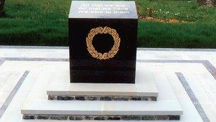 The Rassau and Beaufort War Memorial