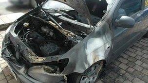 Middlesbrough Council arson attacks