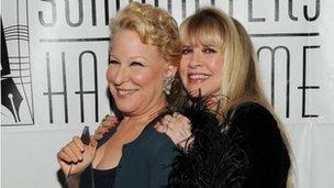 Bette Midler and Stevie Nicks