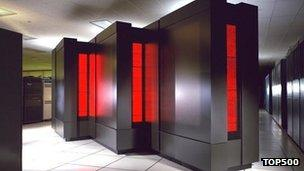 Picture of first supercomputer on Top 500