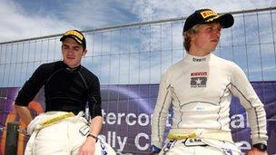 Craig Breen a Gareth Roberts