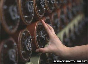 Bombe machine replica
