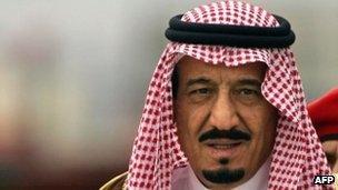 Prince Salman bin Abdul Aziz al-Saud, file pic