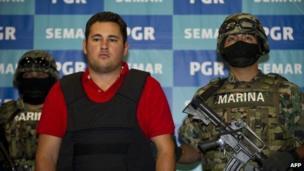 mexico arrests son of top drug lord el chapo guzman bbc news