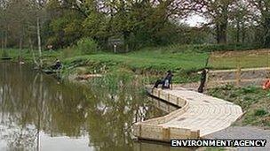 Rackerhayes Ponds (pic: Environment Agency)