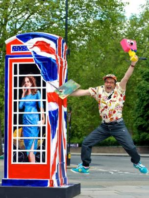 Ring-a Royal-Phonebox design by Timmy Mallet.