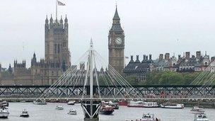 The clock at Westminster is commonly known as Big Ben