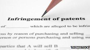 Patent infringement document