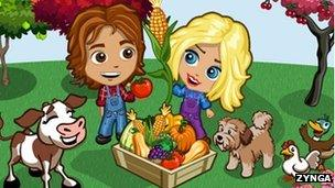 Farmville screenshot