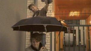 Testing the musical umbrella