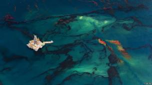 Oil spill in the Gulf of Mexico in 2010
