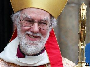 Rowan Williams, Archbishop of Canterbury