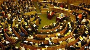 General Synod meeting in 2005