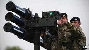 Are Olympic Missiles Just For Show Bbc News