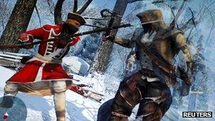 A scene from the forthcoming Assassin's Creed 3