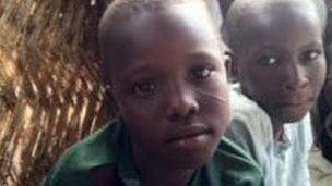 Children in northern Nigerian village