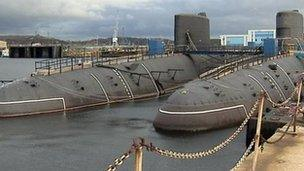 Nigg in Easter Ross suggested for scrapping nuclear subs
