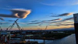Shipyard in Govan