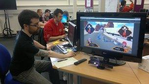Dundee game developers have children review their work - BBC News