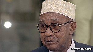 Comoran president Mohamed Djohar