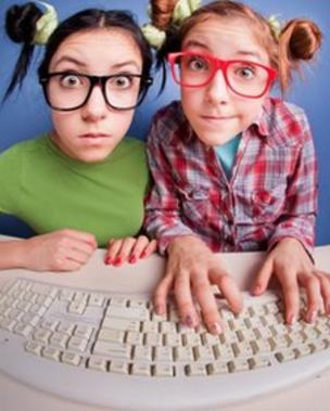 Girl Geeks Copyright Thinkstock