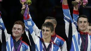 GB men gymnastic team