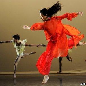 Dancer Jin Xing
