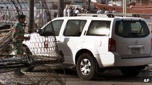 Policeman in Dubai (file)
